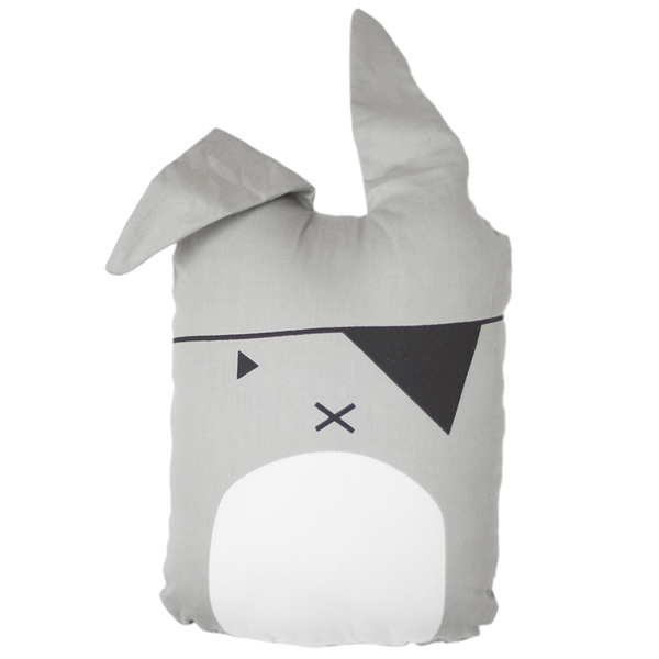 FABELAB ANIMAL PILLOW PIRATE BUNNY