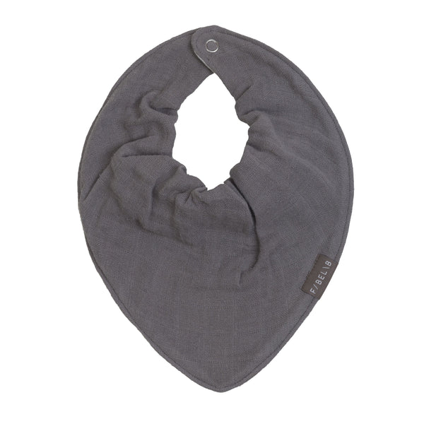 BANDANA BIB IN GREY