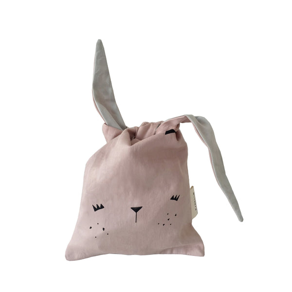 LUNCH BAG BUNNY IN MAUVE