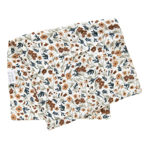 Mebie Baby Harvest Floral Burp Cloth