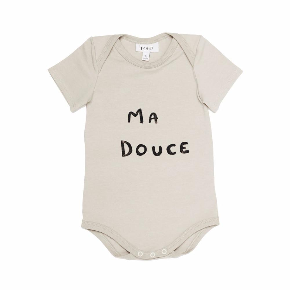 LOUP LOUP COLLECTION BABY BODYSUIT MA DOUCE | SUGARLOAF