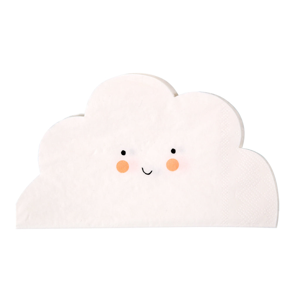 Meri Meri MERI MERI CLOUD SHAPED NAPKIN | Sugarloaf