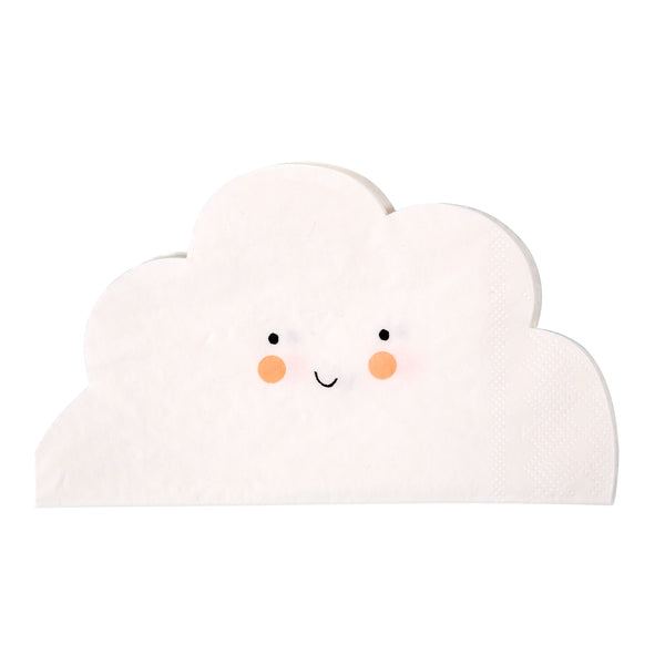 MERI MERI CLOUD SHAPED NAPKIN - sugarloaf