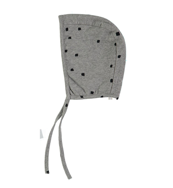 MINI SIBLING JERSEY CAP IN GREY WITH CONFETTI - sugarloaf