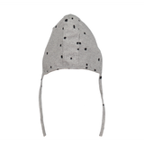 Mini Sibling by Beau Loves MINI SIBLING JERSEY CAP IN GREY WITH CONFETTI
