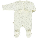 Poudre Organic Poudre Organic ORGANIC BABY ROMPER WITH FEET back