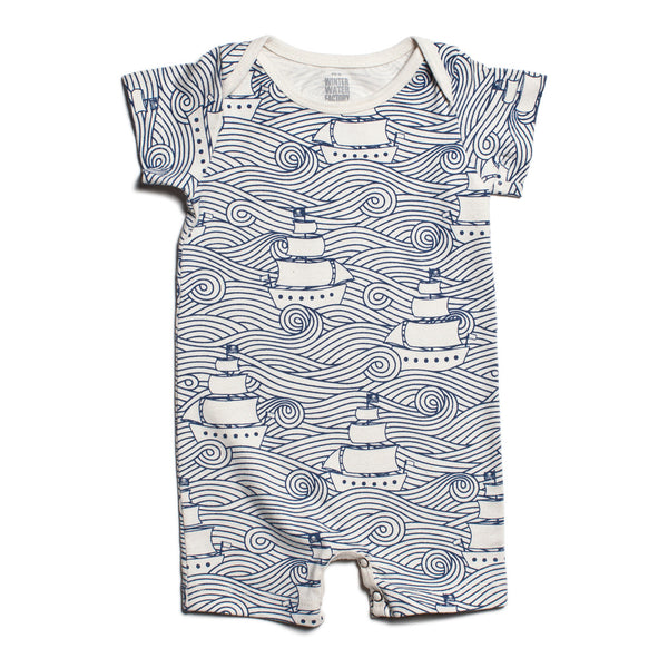 Summer Romper - High Seas Navy - sugarloaf