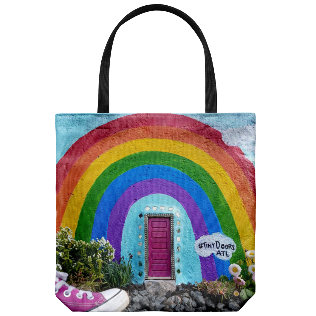NEW!! Rainbow Door Tote!