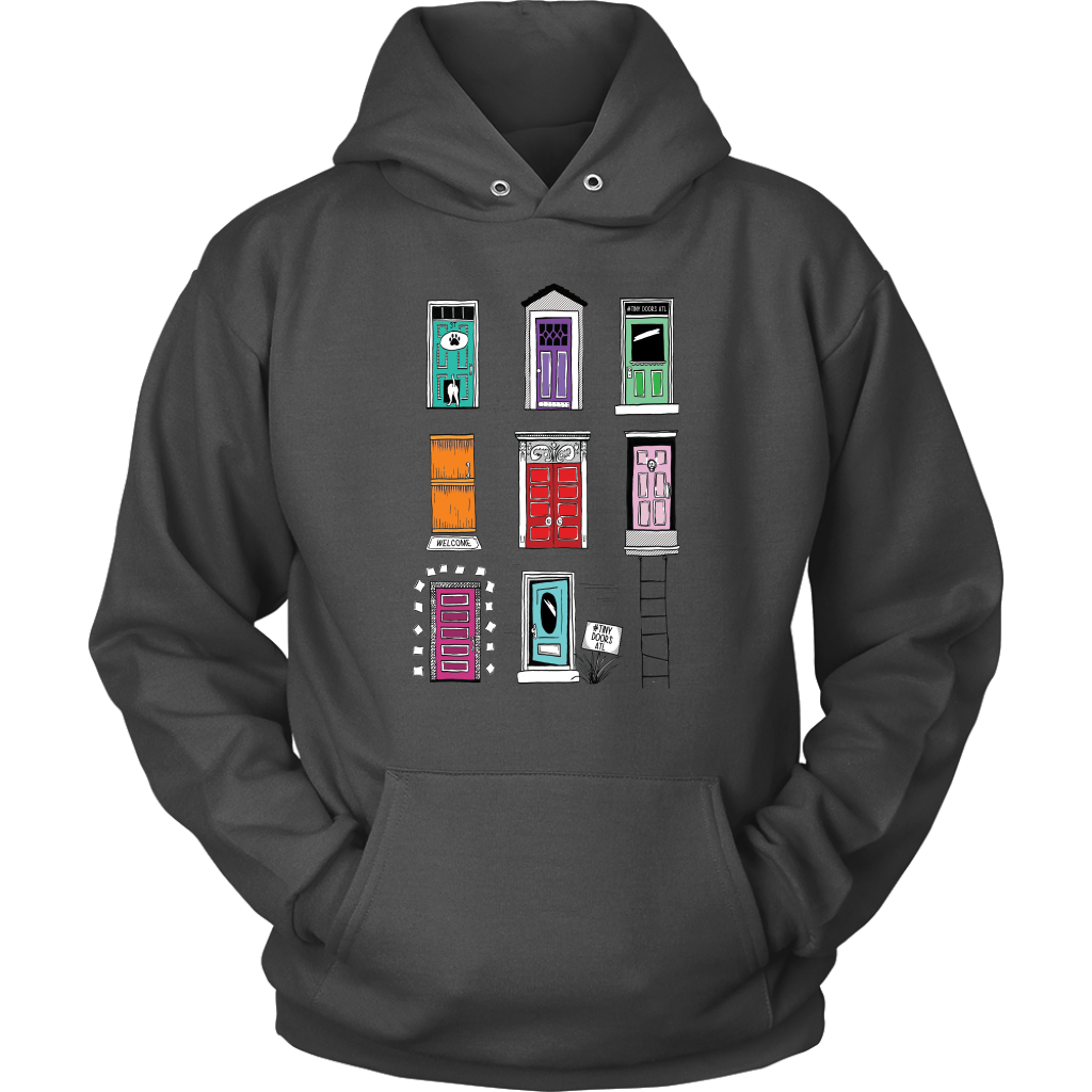 Tiny Doors of Atlanta Hoodie. NEW!