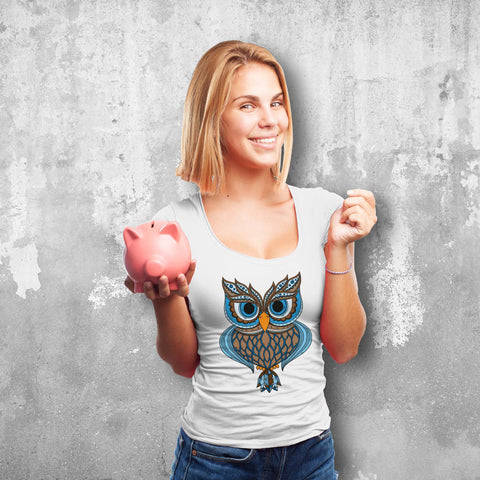 Majestic Owl Female T-Shirt