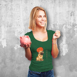Pugdi Female Green T-Shirt