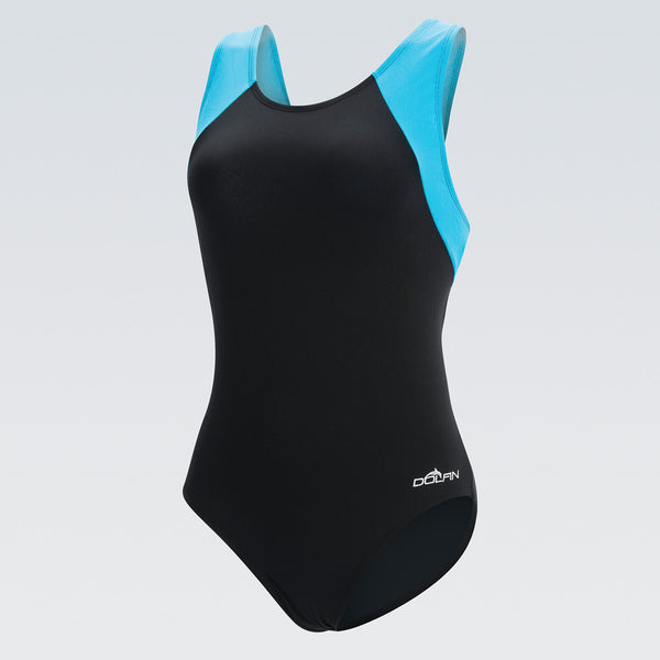 AquaShape Color Block Moderate Fitness Suit