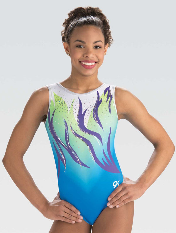 Floating Waves Tank Leotard