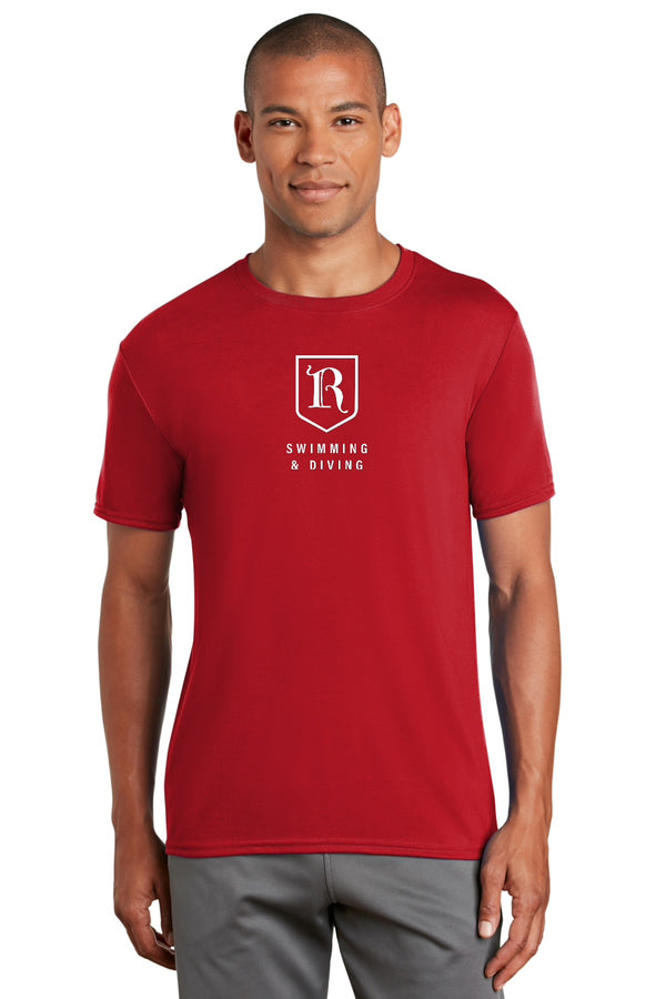 Rhodes College Swimming & Diving Dryfit Shirt