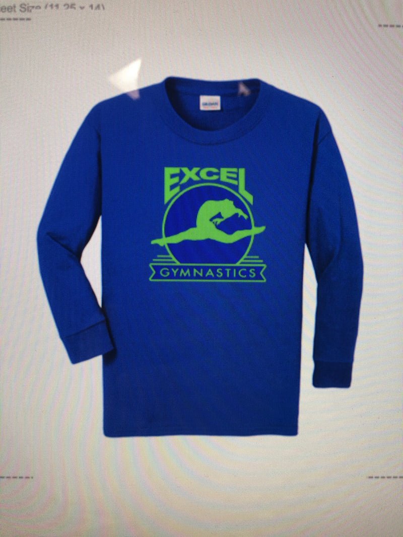 Excel Heavy Cotton Long Sleeve T-Shirt