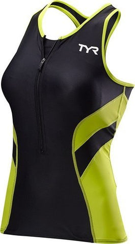 Competition Tri Tank - Black/Lime
