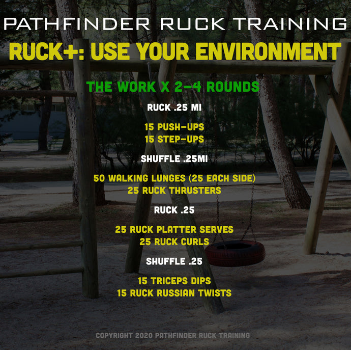 RUCK+: Use Your Environment