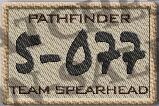 5-077 Patch - Kirk's Roster Number