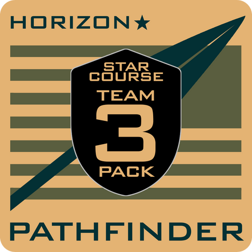 PATHFINDER Horizon Star Course Team 3-Pack
