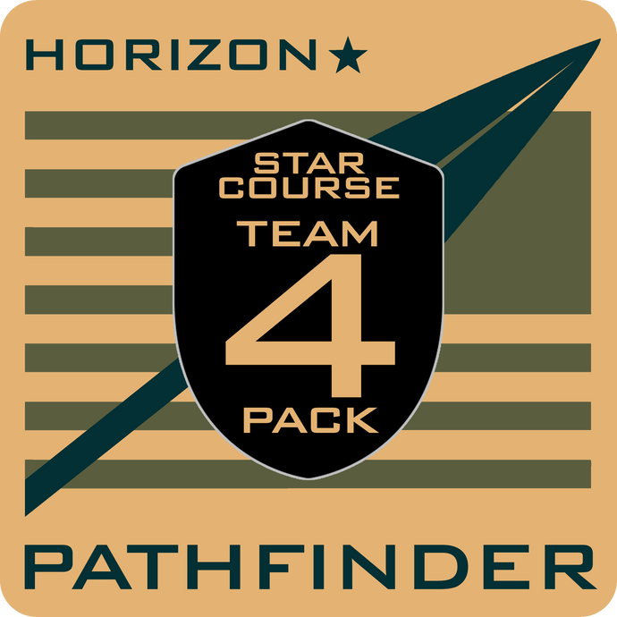 PATHFINDER Horizon Star Course Team 4-Pack