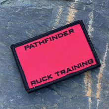 PATHFINDER Ruck Training Premium Roster Patch Advanced Red
