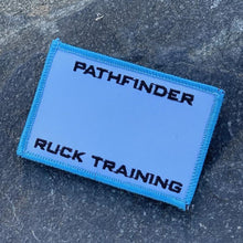 PATHFINDER Ruck Training Premium Roster Patch Endure Blue