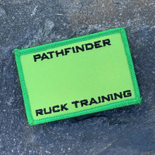 PATHFINDER Ruck Training Premium Roster Patch Forward Green