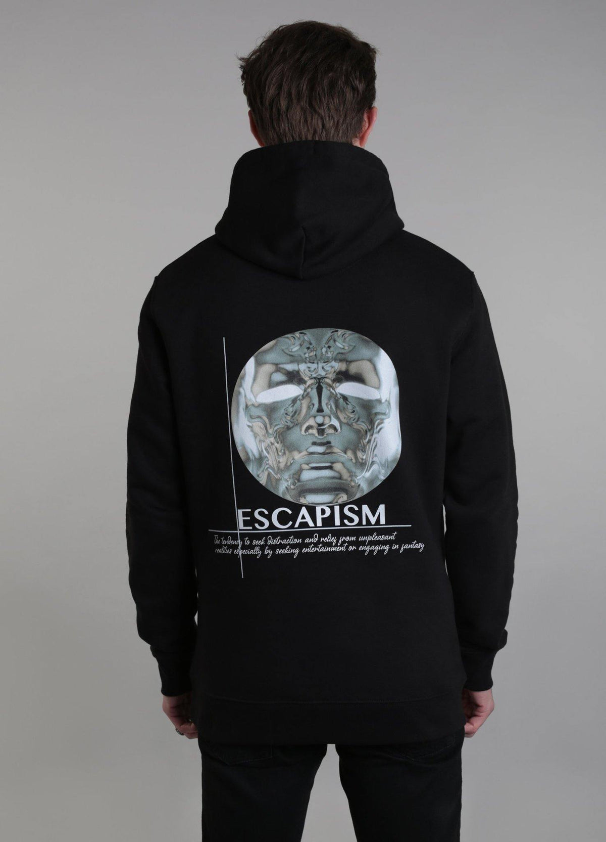 Escapism Hooded Sweatshirt - ALISTAIR GREY