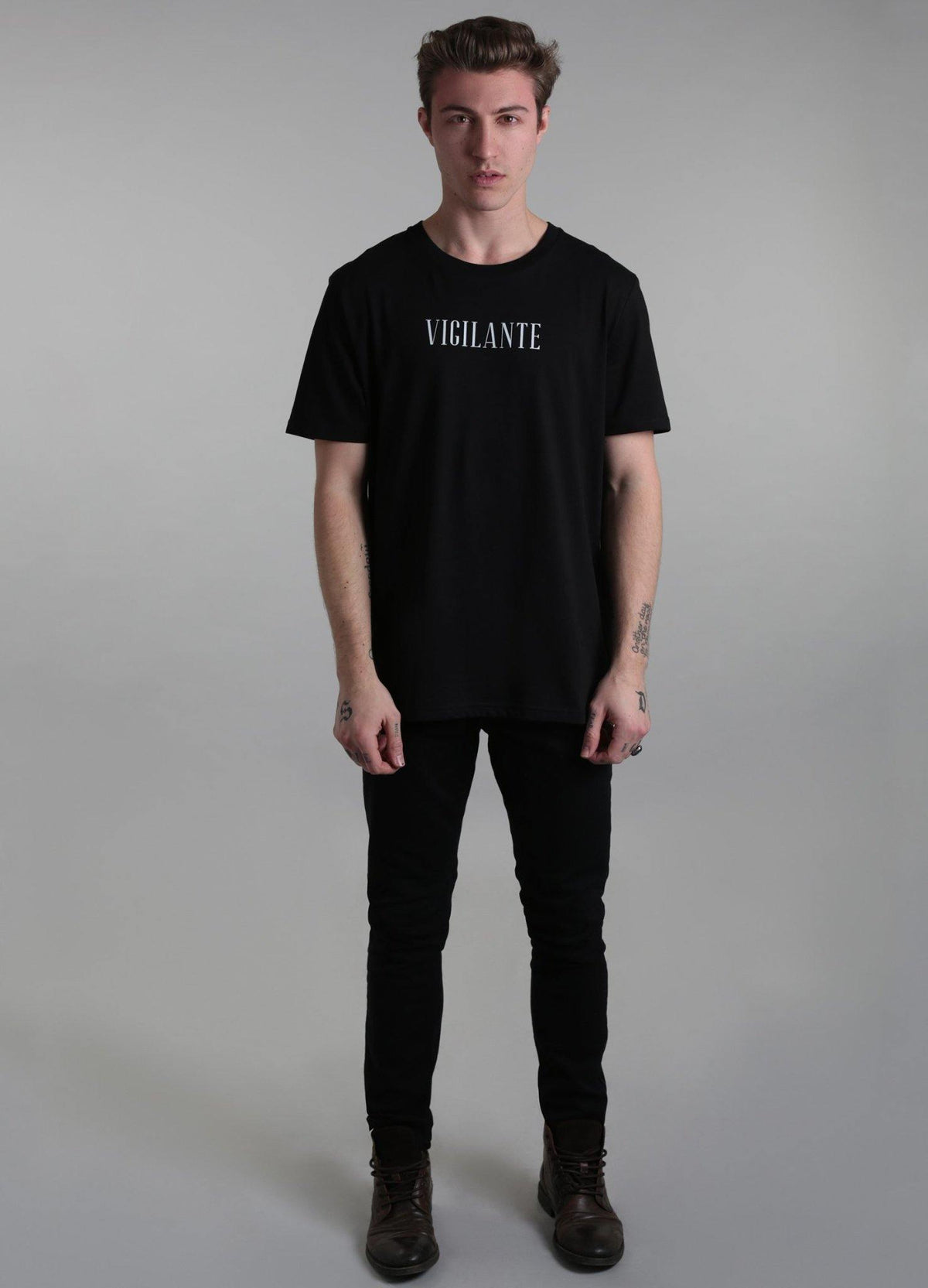 Vigilante T-Shirt - Alistair Grey
