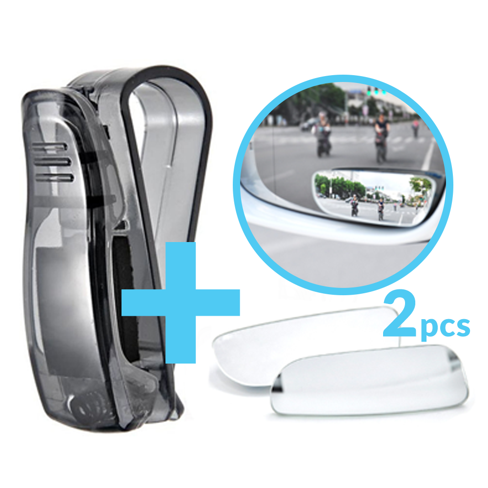 Package - Glasses Clip Holder + Mirror Rear View