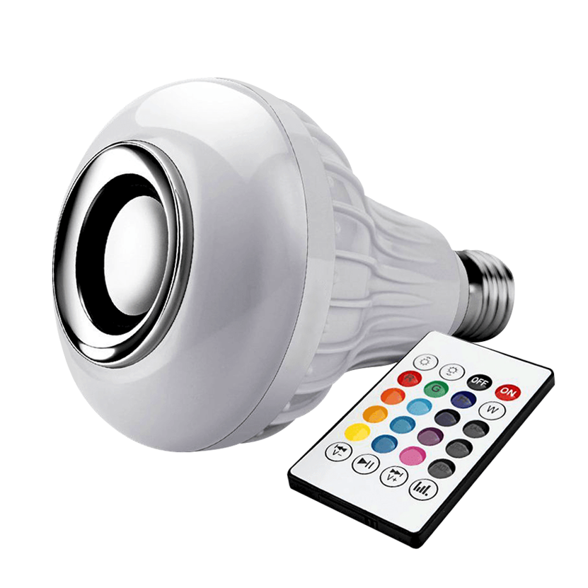 Light Bulb RGB LED Bluetooth Speaker