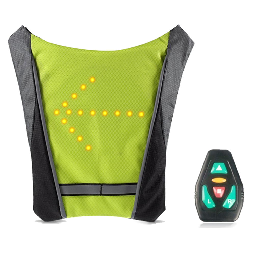 LED Turn Signal Indicator Vest