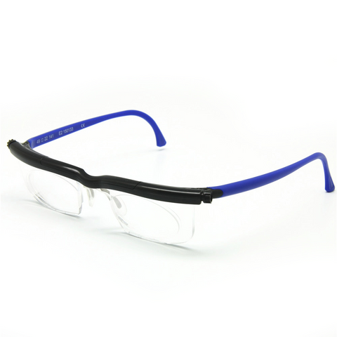 Adjustable Reading Glasses (-6D to +3D Dipters)
