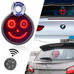 LED Car Sign Rear Window – Remote Control – 5 Models