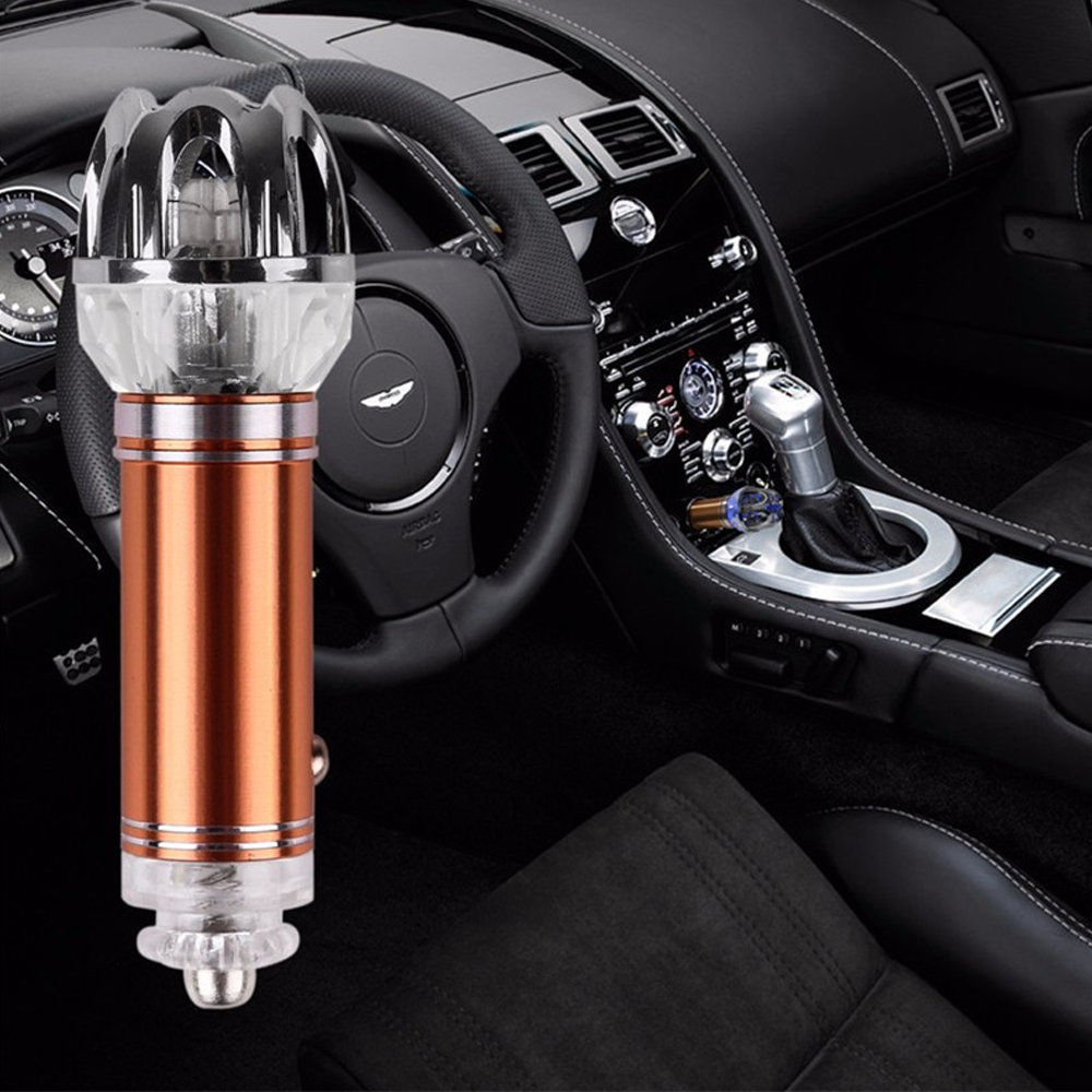 Wild Air Cleaners For Cars : Car air purifier ionizer smoke dust genius products