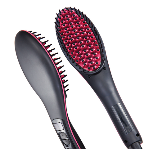 Simply Straight - Ceramic Hair Brush For Straight Hair