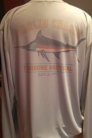 Marlin Chaser - Men's Long Sleeve UPF