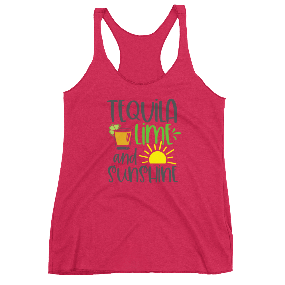Tequila Lime and Sunshine Tank
