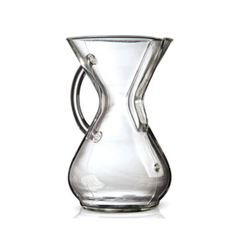 Chemex 6 Cup Coffee Maker (Glass Handle)