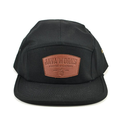 Java Works Five Panel Barista Hat