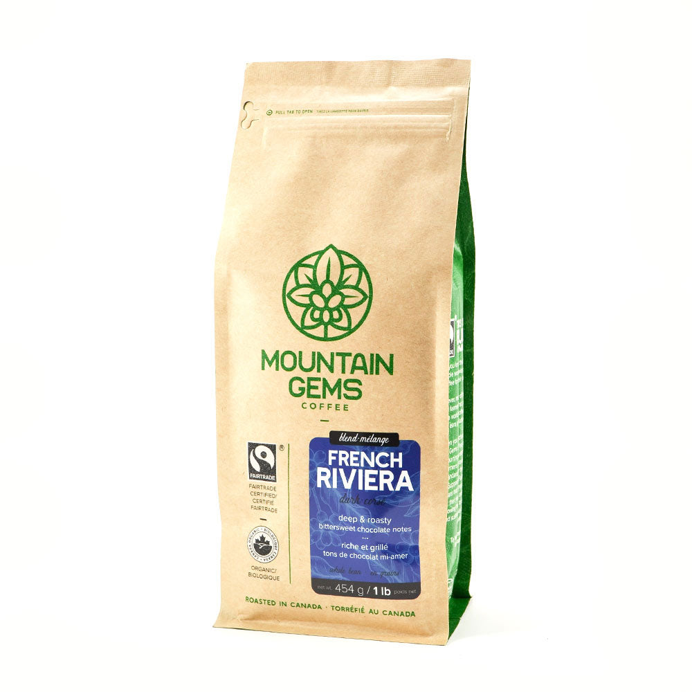 Mountain Gems French Riviera Fairtrade Certified Organic Coffee