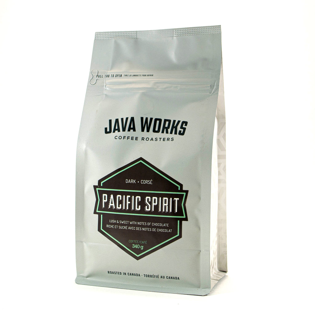 Java Works Pacific Spirit Dark Roast