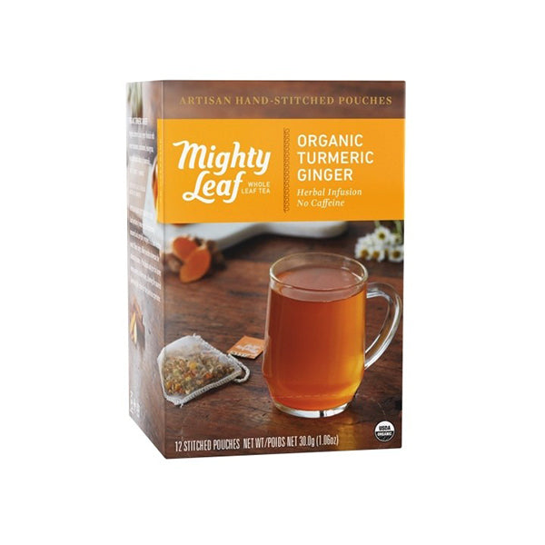 Mighty Leaf Turmeric Ginger