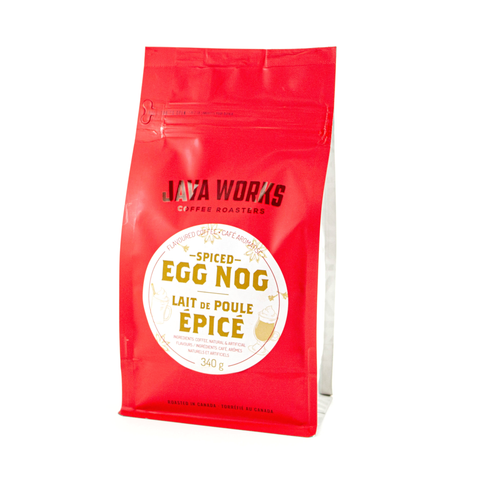 Spiced Egg Nog Flavoured Coffee