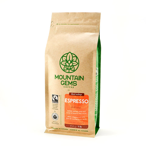 Mountain Gems Fairtrade Certified Organic Espresso