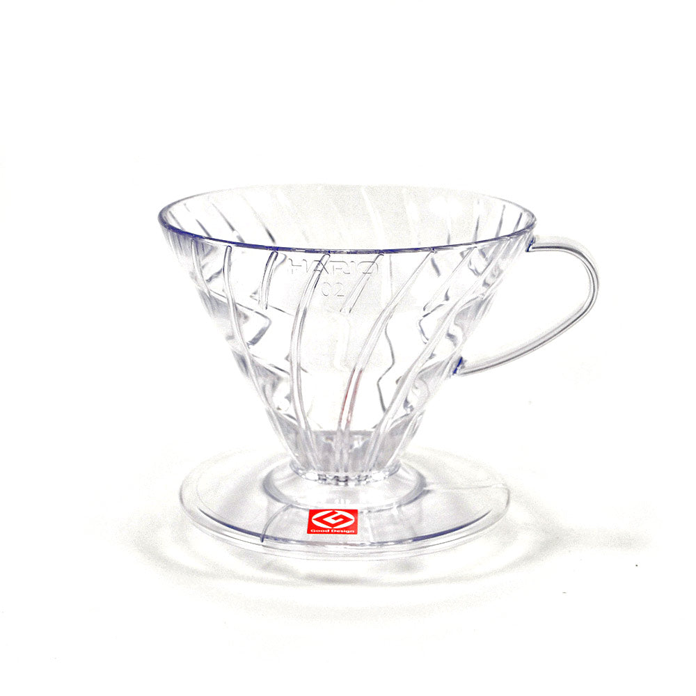 Hario V60-02 Clear Plastic Coffee Dripper