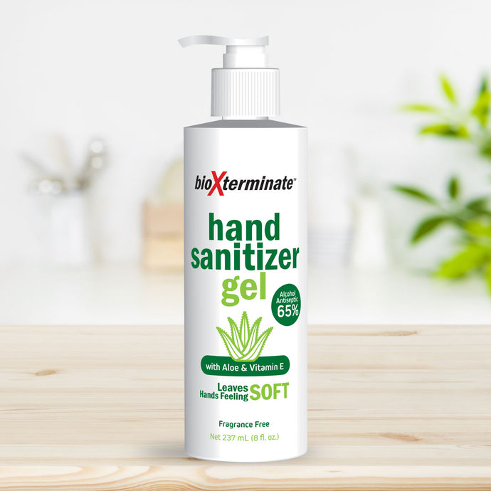 8 oz Hand Sanitizer Gel