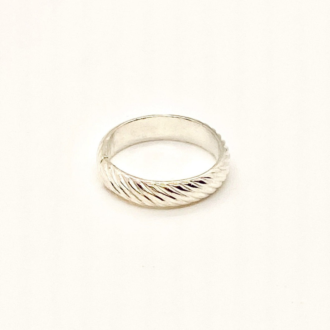 Debbie Davis Sterling Silver Band Ring