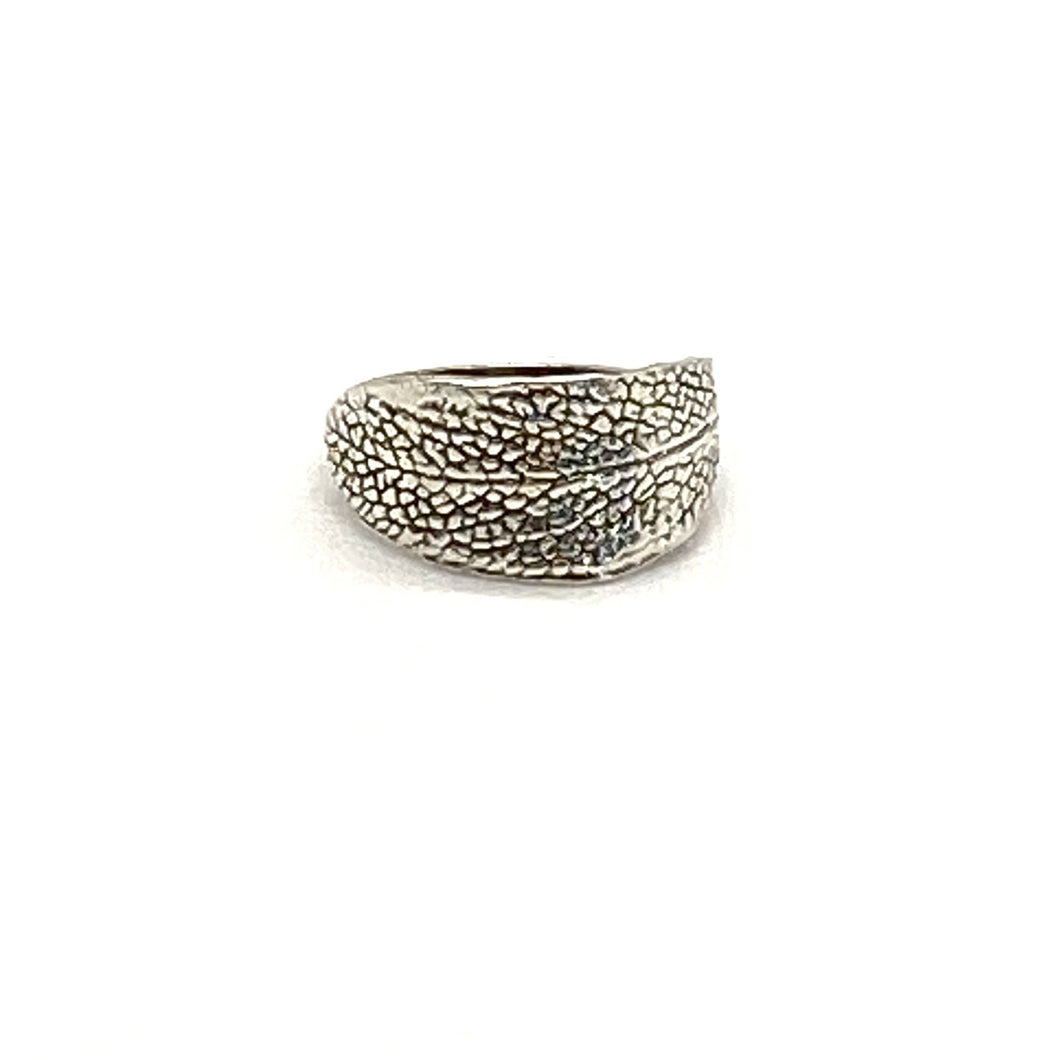 Debbie Davis Sterling Sage Imprint Ring