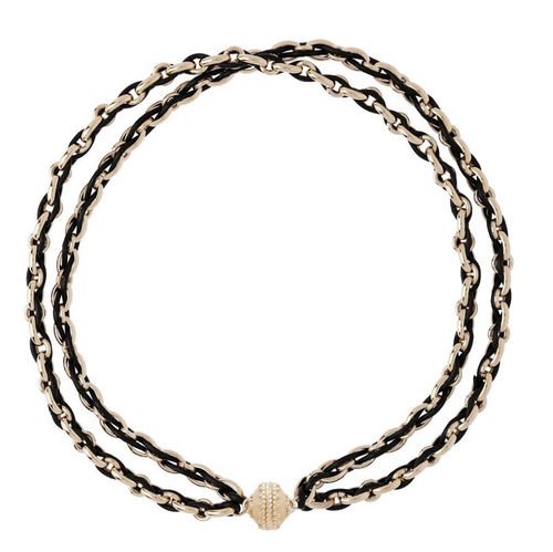 Randolph Jet Black Necklace